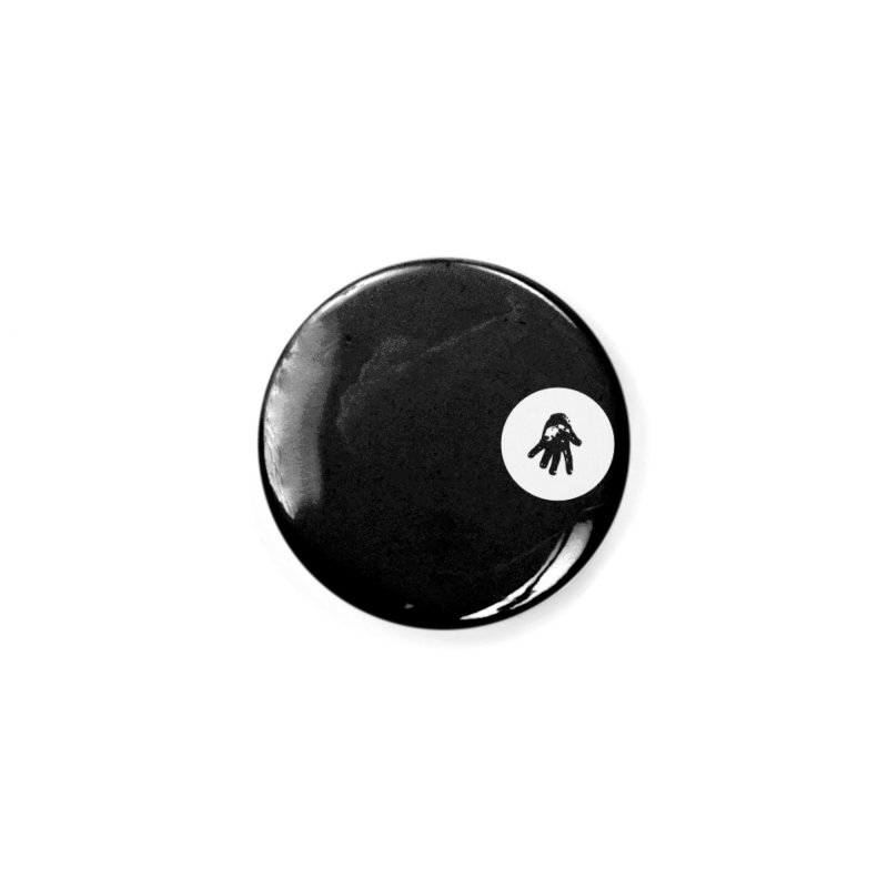 IT Polo (white ink) Accessories Button by Interdimensional Transmissions