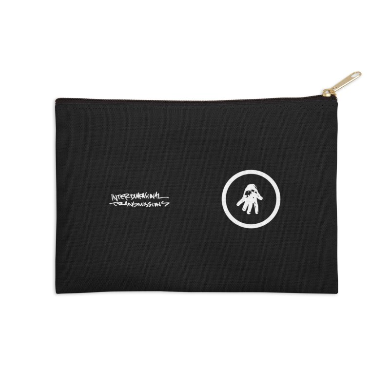 IT Face Mask (logo) Accessories Zip Pouch by Interdimensional Transmissions