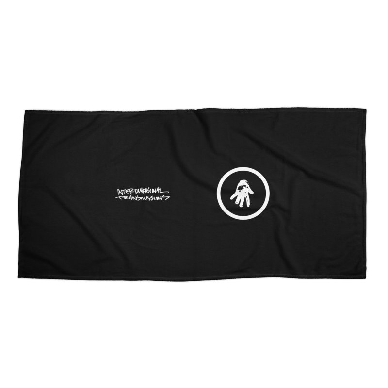 IT Face Mask (logo) Accessories Beach Towel by Interdimensional Transmissions
