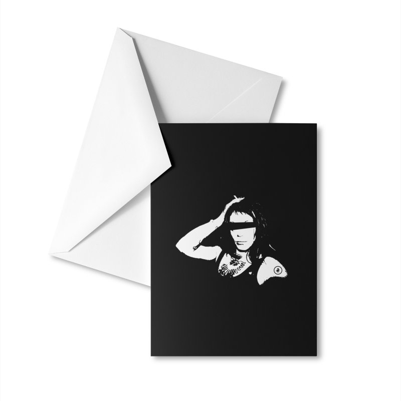 Samhain XX Vidosh Accessories Greeting Card by Interdimensional Transmissions