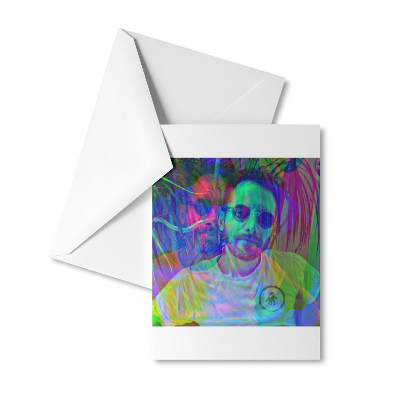 Jase Is The Place Accessories Greeting Card by Interdimensional Transmissions