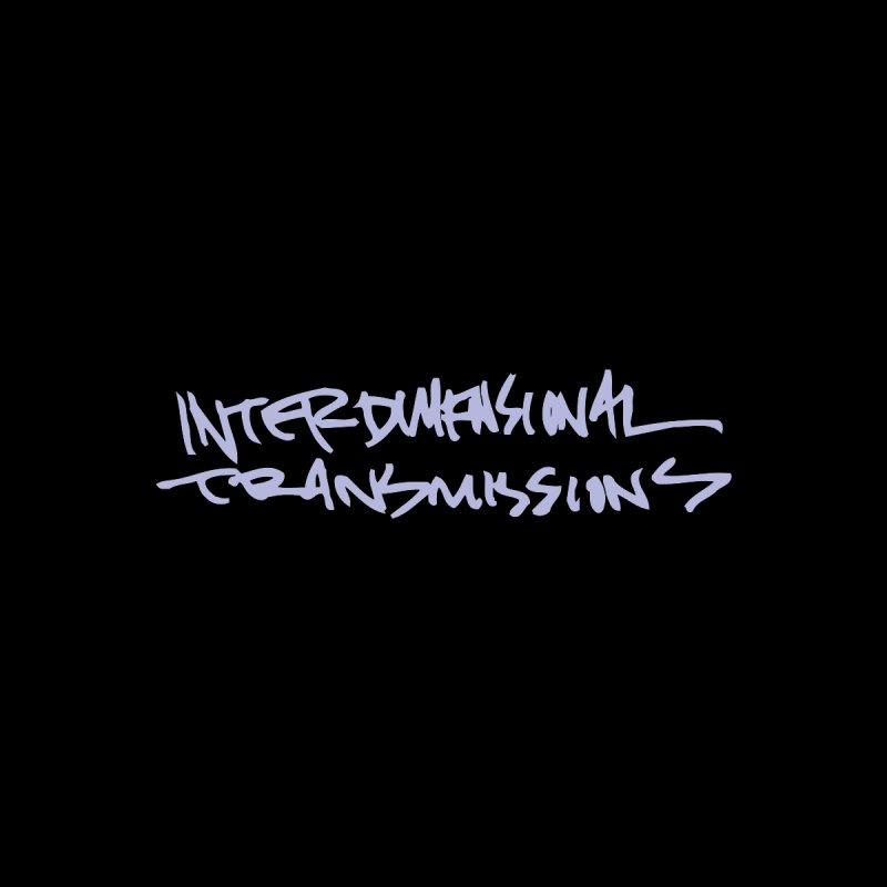 Interdimensional Transmissions Purple Ink Accessories Notebook by Interdimensional Transmissions