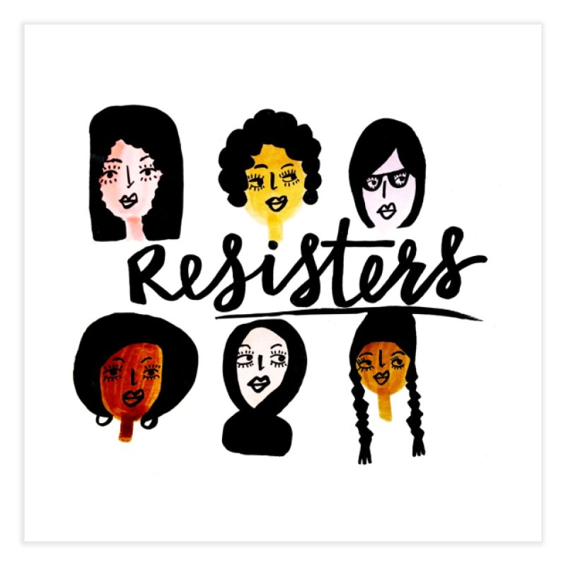 ReSisters Home Fine Art Print by IT MUST BEE A SIGN