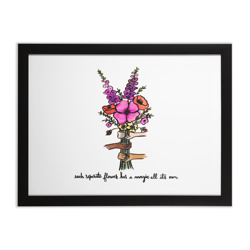 magic all its own Home Framed Fine Art Print by IT MUST BEE A SIGN