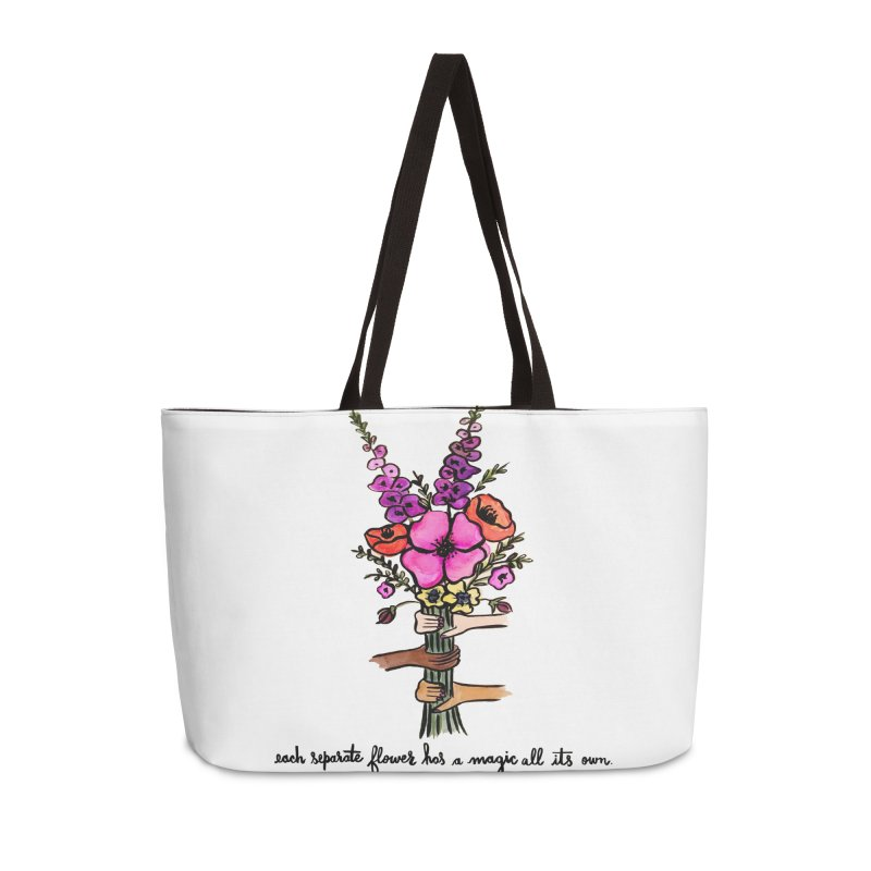 magic all its own Accessories Weekender Bag Bag by IT MUST BEE A SIGN