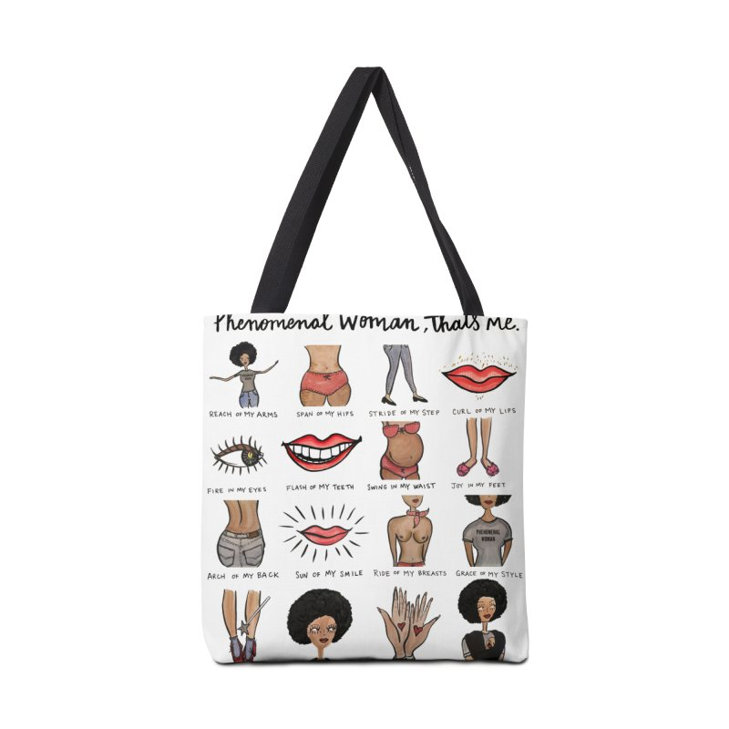 Phenomenal Woman Accessories Tote Bag Bag by IT MUST BEE A SIGN