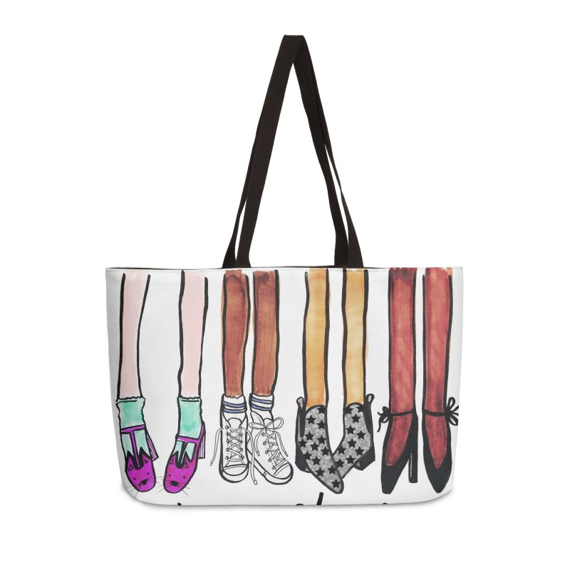 March a mile in my shoes Accessories Weekender Bag Bag by IT MUST BEE A SIGN