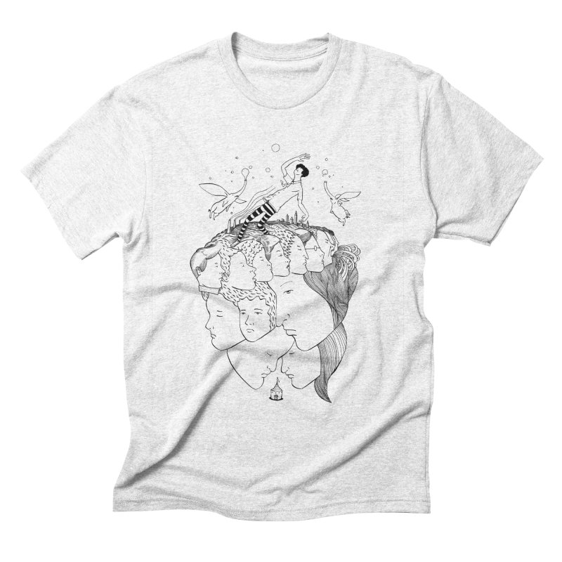 Came So Far From Home Men's Triblend T-shirt by itoshige