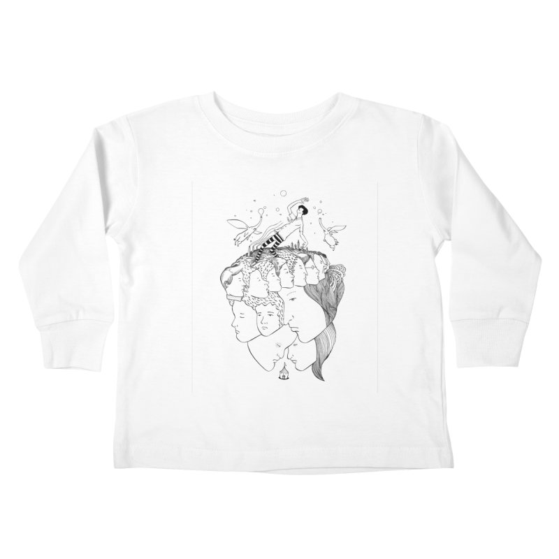 Came So Far From Home Kids Toddler Longsleeve T-Shirt by itoshige