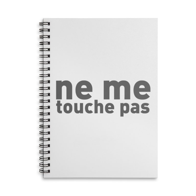 regle no 2 Accessories Notebook by It's All Good Artist Shop