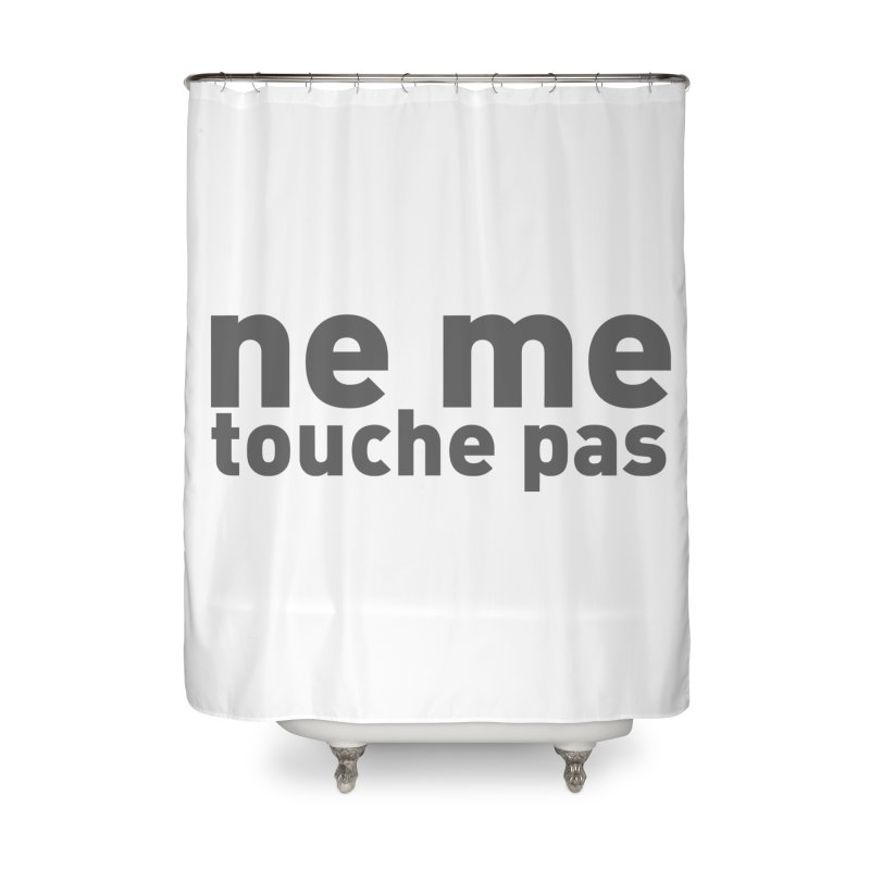 regle no 2 Home Shower Curtain by It's All Good Artist Shop