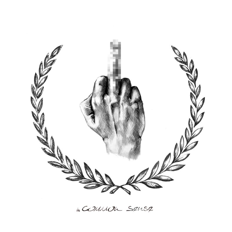the Finger and the Glory (or Fuck Perry) Women's Tank by it's Common Sense