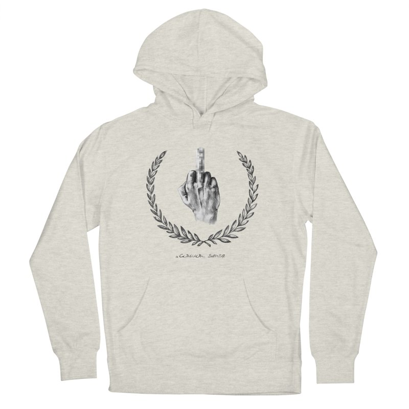 the Finger and the Glory (or Fuck Perry) Women's Pullover Hoody by it's Common Sense