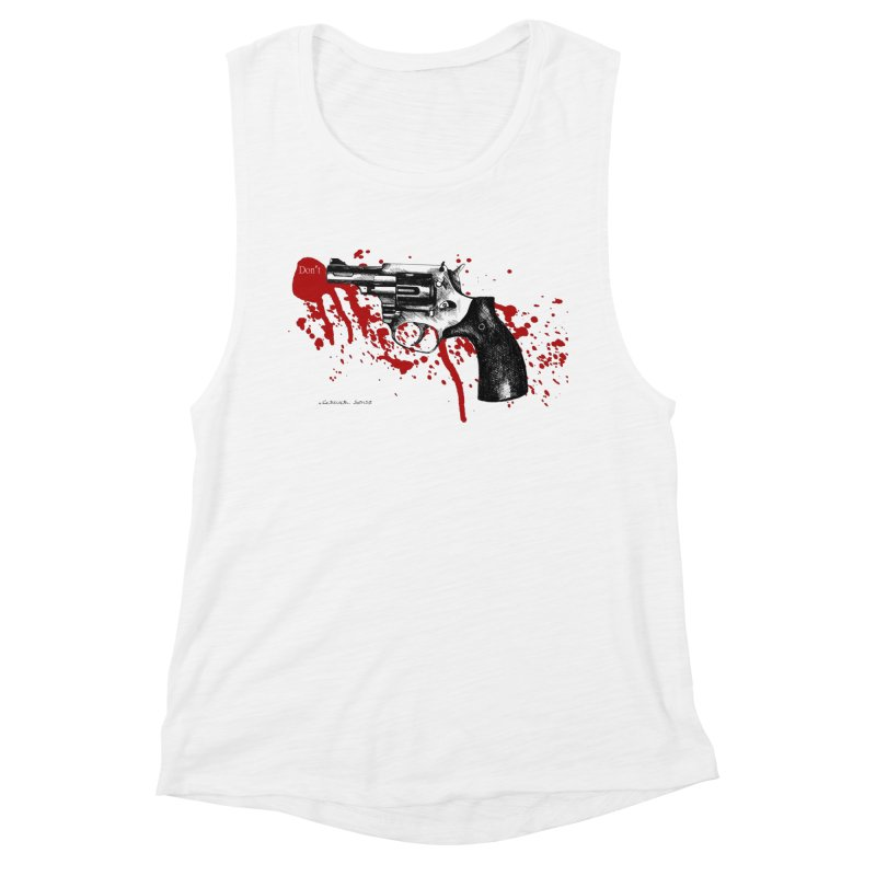 Don't Women's Muscle Tank by it's Common Sense