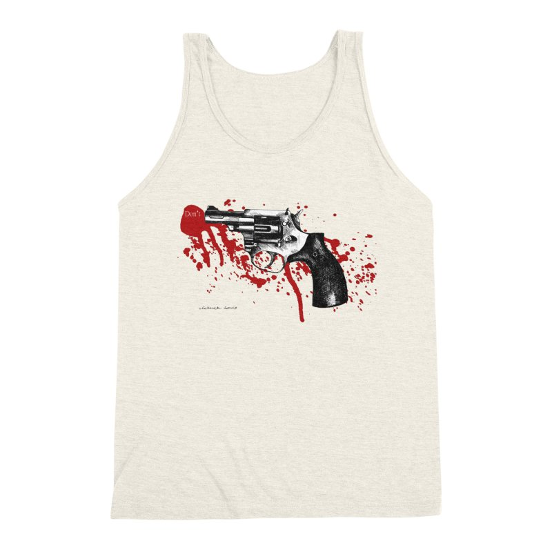 Don't Men's Triblend Tank by it's Common Sense