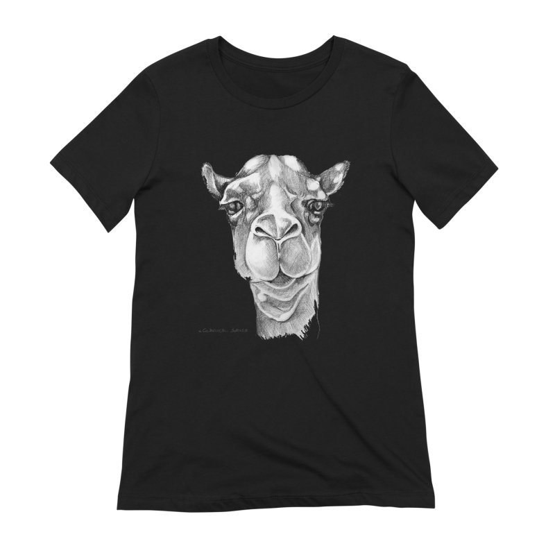 the Camel Women's Extra Soft T-Shirt by it's Common Sense