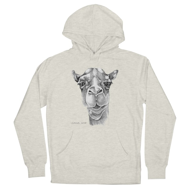 the Camel Men's French Terry Pullover Hoody by it's Common Sense