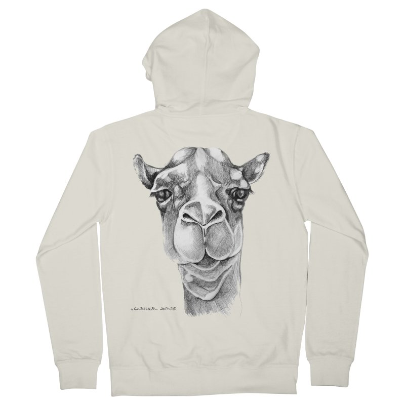 the Camel Women's French Terry Zip-Up Hoody by it's Common Sense