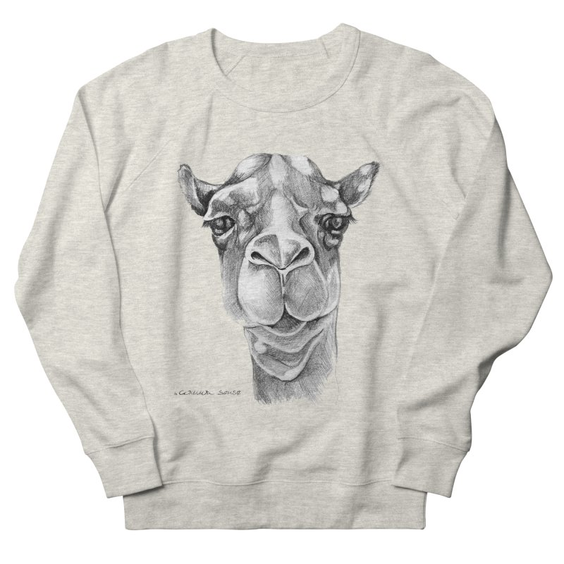 the Camel Women's French Terry Sweatshirt by it's Common Sense