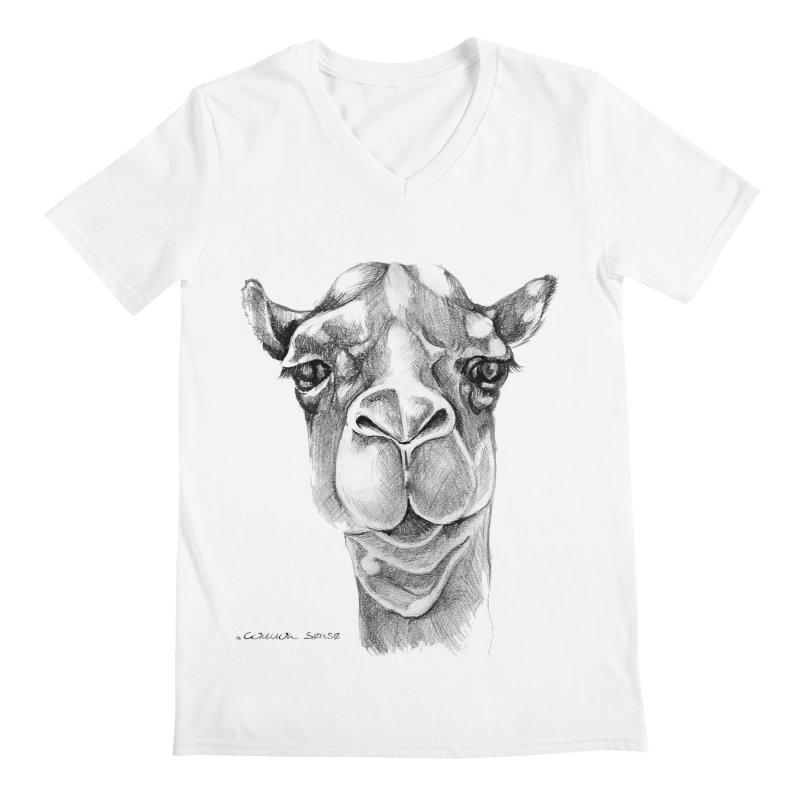the Camel Men's Regular V-Neck by it's Common Sense
