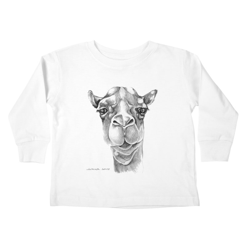 the Camel Kids Toddler Longsleeve T-Shirt by it's Common Sense
