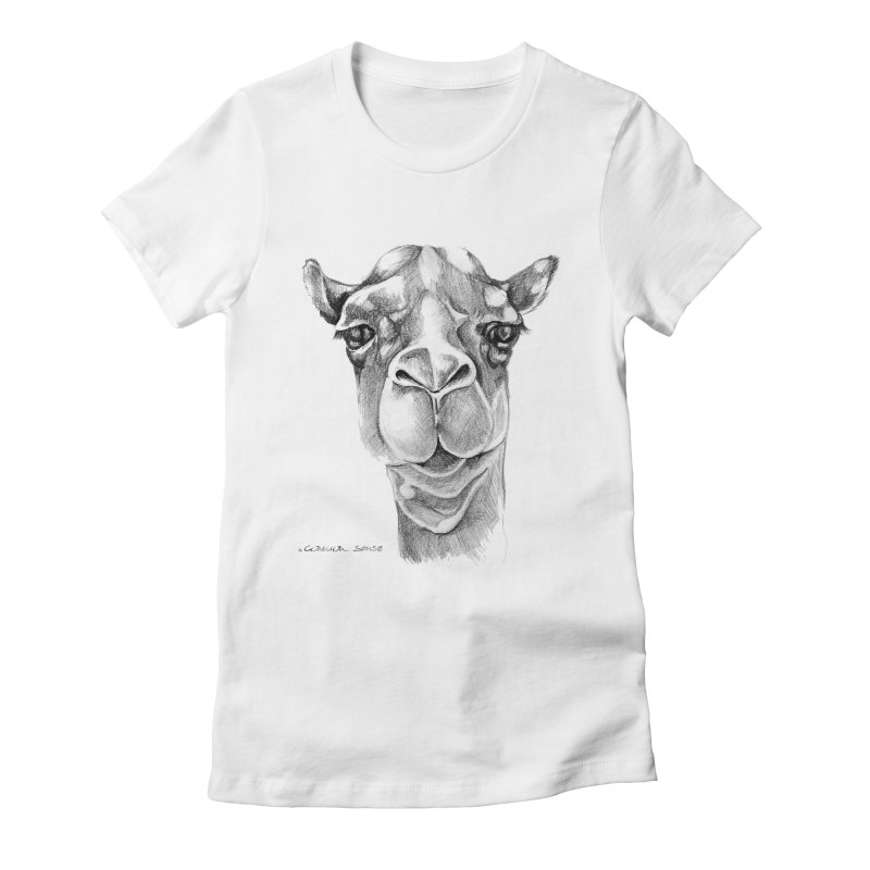 the Camel Women's T-Shirt by it's Common Sense