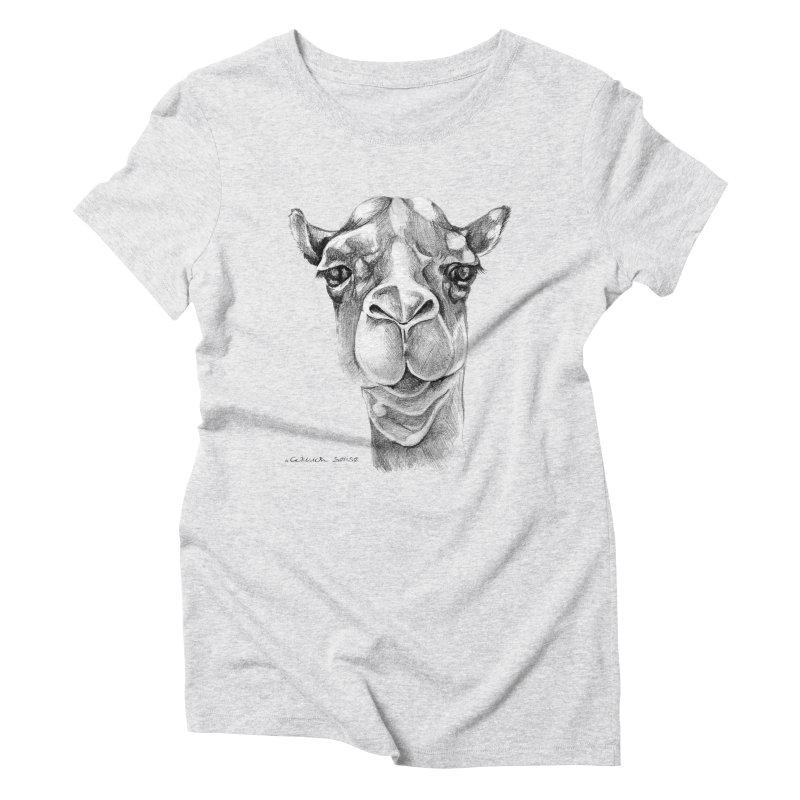 the Camel Women's Triblend T-Shirt by it's Common Sense