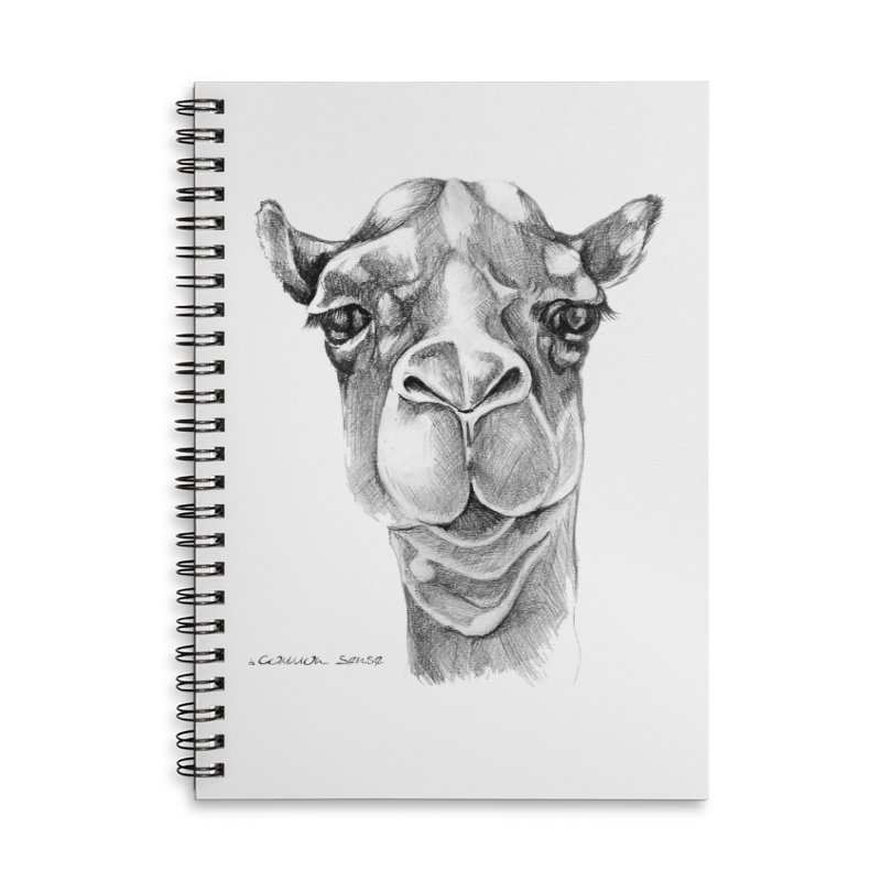 the Camel Accessories Lined Spiral Notebook by it's Common Sense