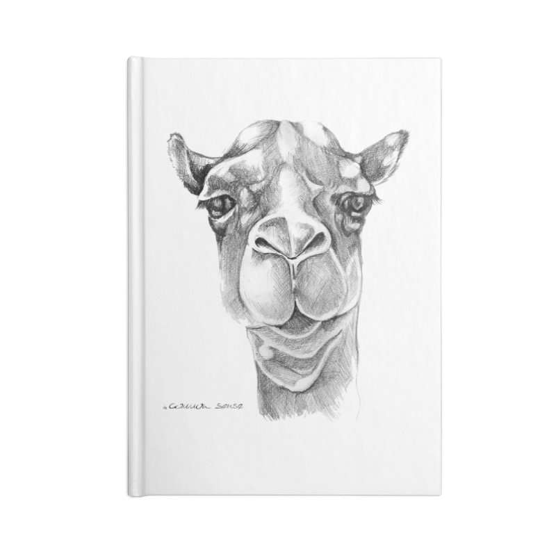 the Camel Accessories Lined Journal Notebook by it's Common Sense