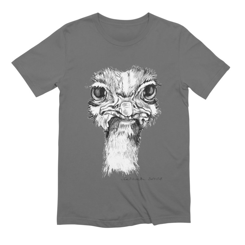 The Common Ostrich Men's Extra Soft T-Shirt by it's Common Sense