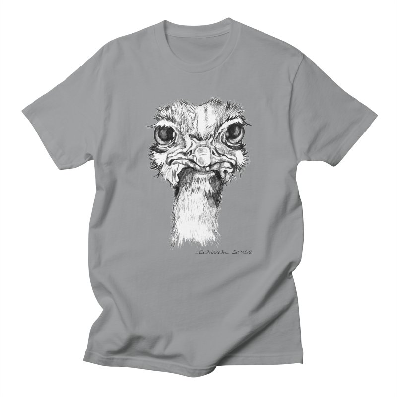 The Common Ostrich Men's Regular T-Shirt by it's Common Sense