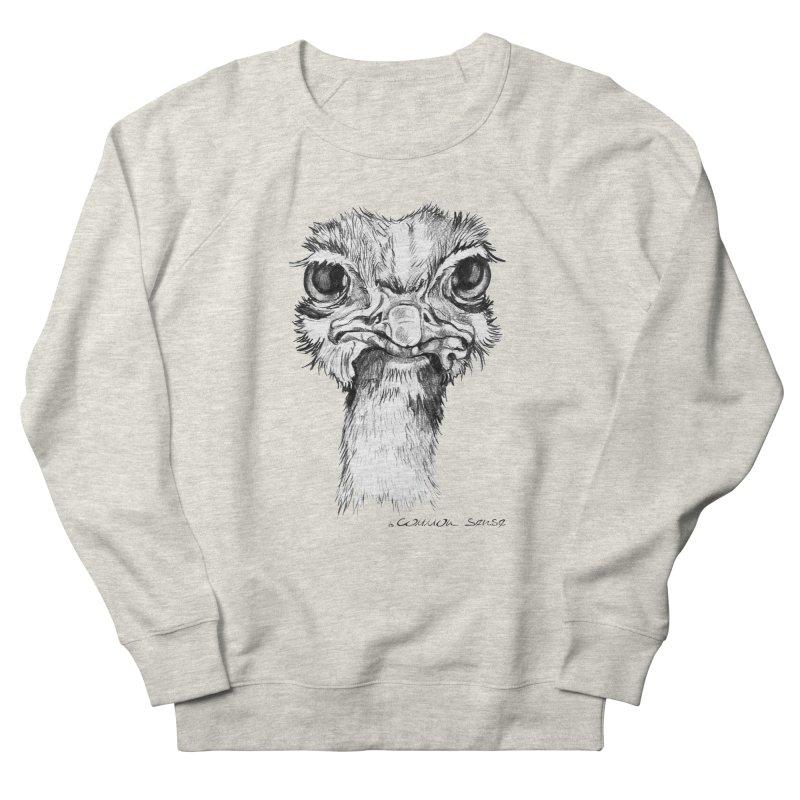 The Common Ostrich Women's Sweatshirt by it's Common Sense