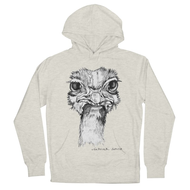 The Common Ostrich Women's Pullover Hoody by it's Common Sense