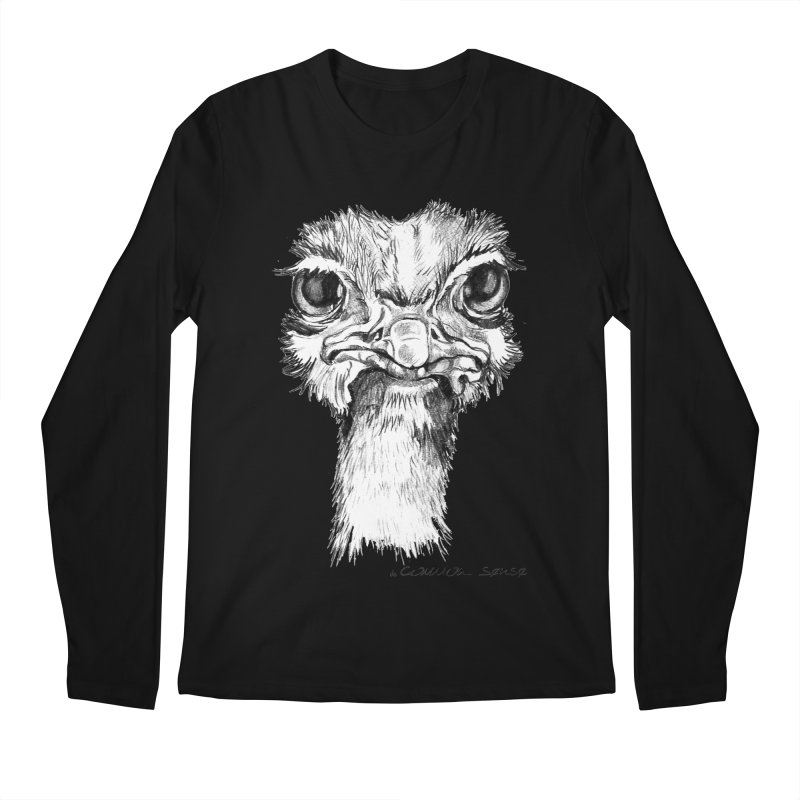 The Common Ostrich Men's Longsleeve T-Shirt by it's Common Sense