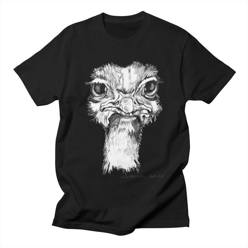 The Common Ostrich Men's T-Shirt by it's Common Sense