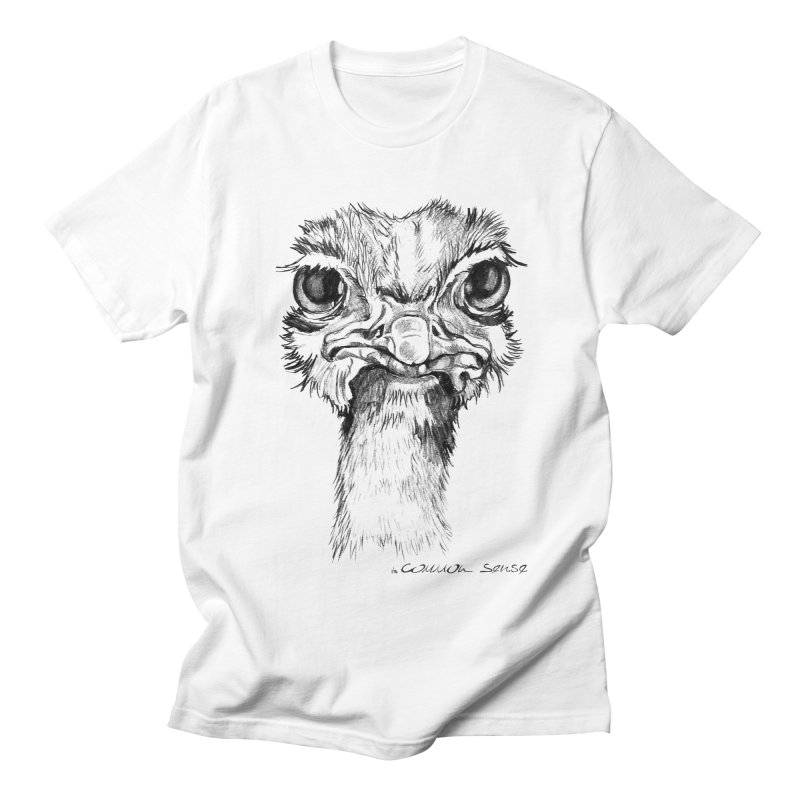 The Common Ostrich Women's T-Shirt by it's Common Sense