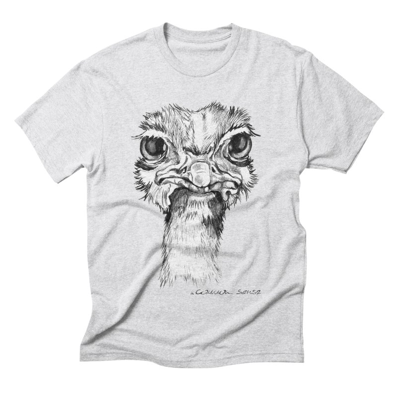 The Common Ostrich Men's T-Shirt by it's Common Sense