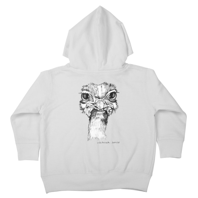 The Common Ostrich Kids Toddler Zip-Up Hoody by it's Common Sense