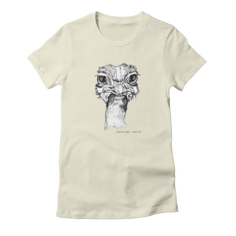 The Common Ostrich Women's T-Shirt by it's Common Sense