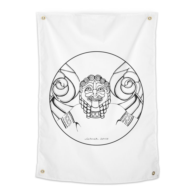 Medusa Home Tapestry by it's Common Sense