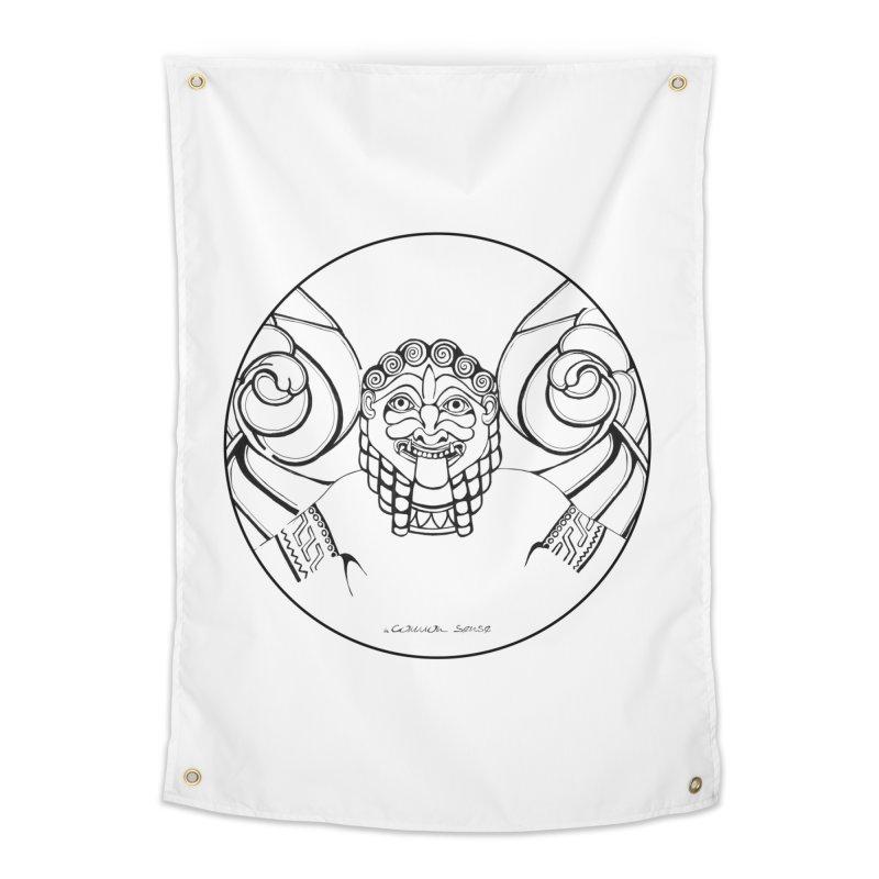 Medusa Home Tapestry by it's Common Sense