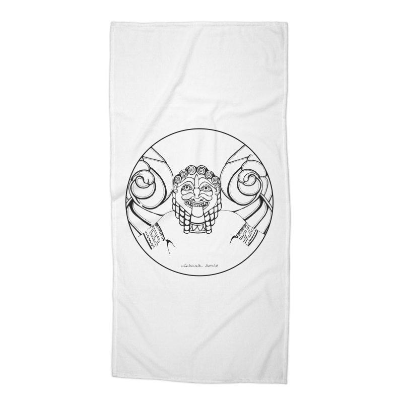 Medusa Accessories Beach Towel by it's Common Sense