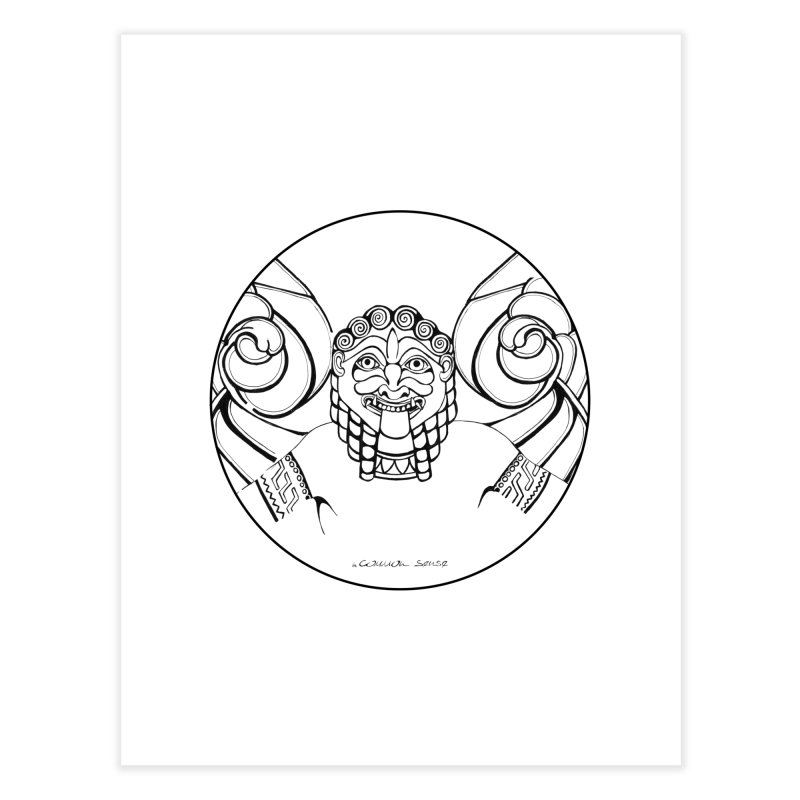 Medusa Home Fine Art Print by it's Common Sense