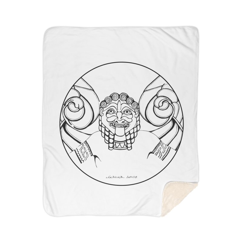 Medusa Home Sherpa Blanket Blanket by it's Common Sense