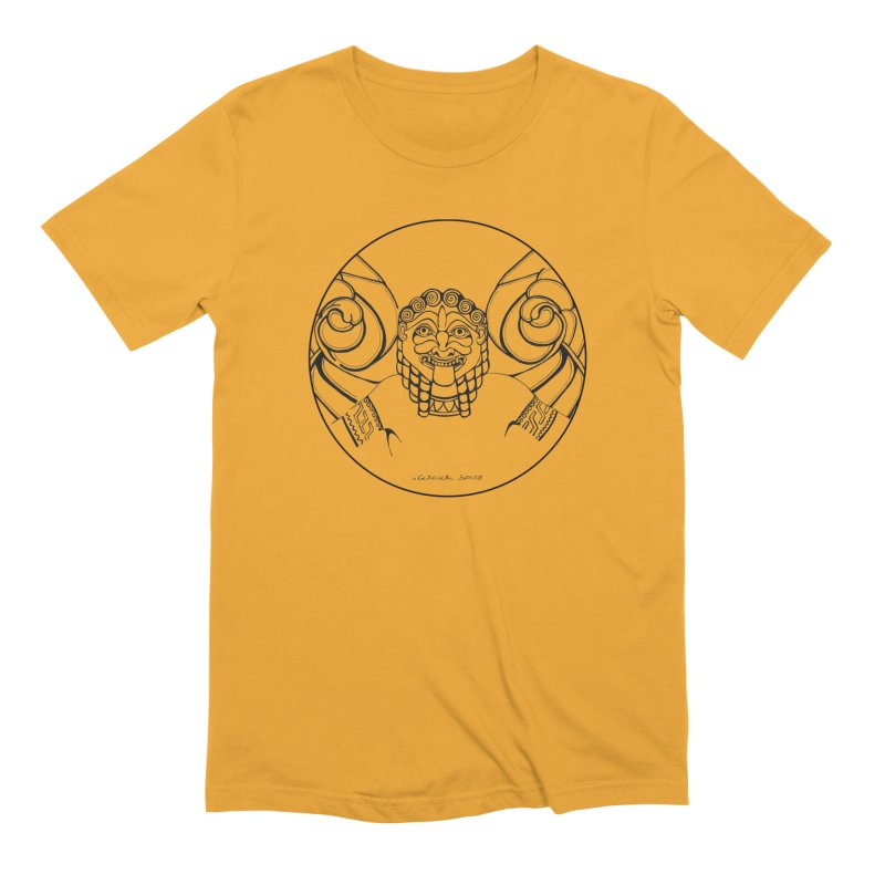 Medusa Men's Extra Soft T-Shirt by it's Common Sense