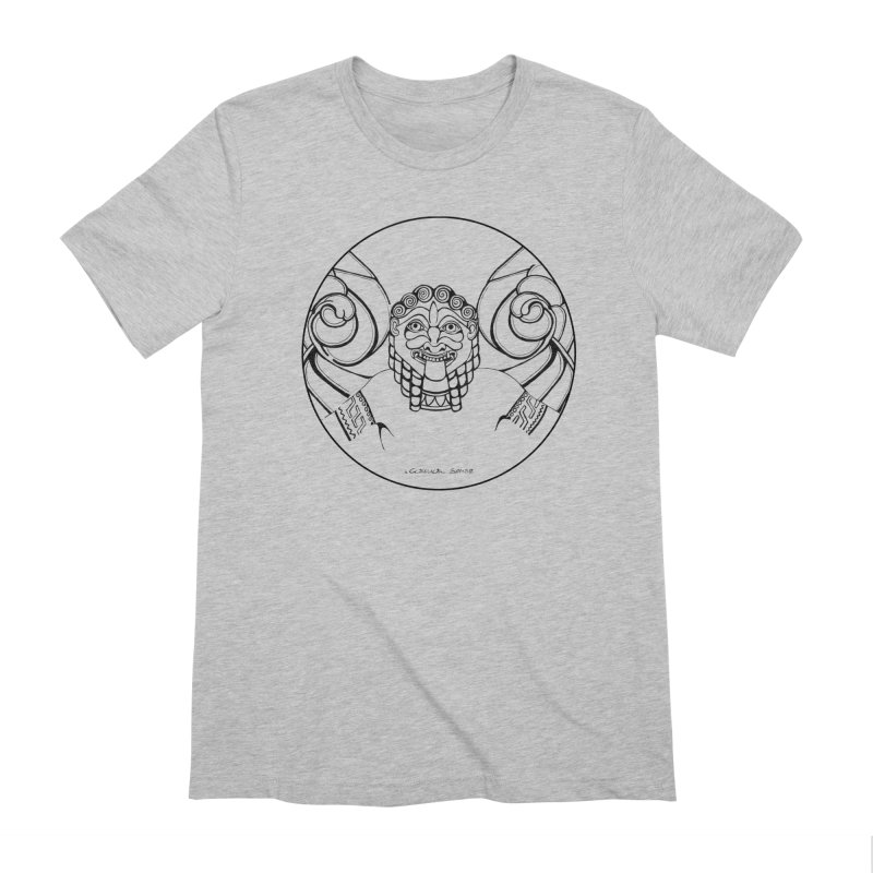 Medusa Men's Extra Soft T-Shirt by it's Common Sense