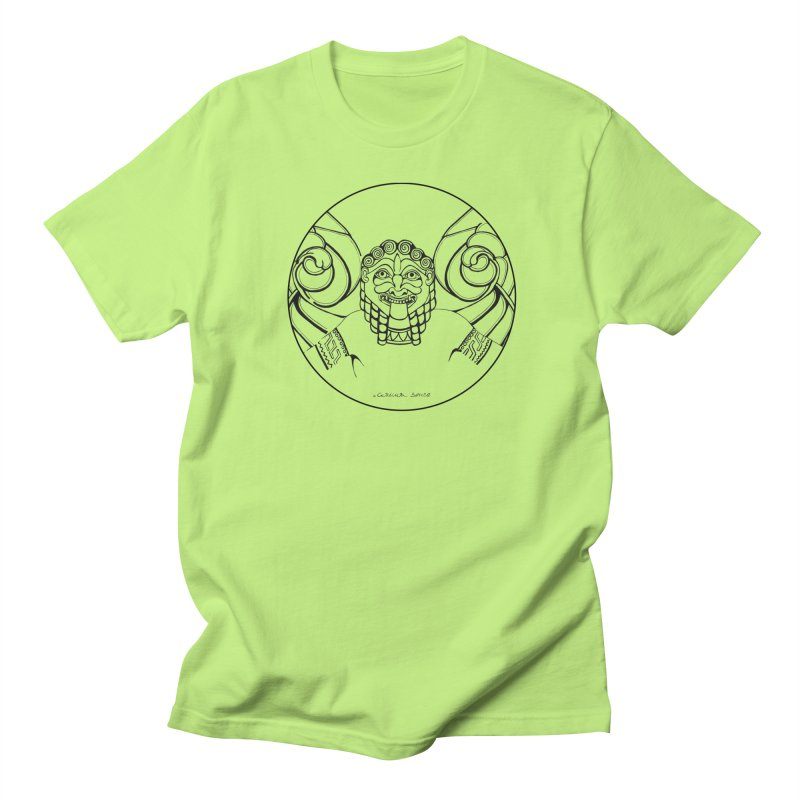 Medusa Men's Regular T-Shirt by it's Common Sense