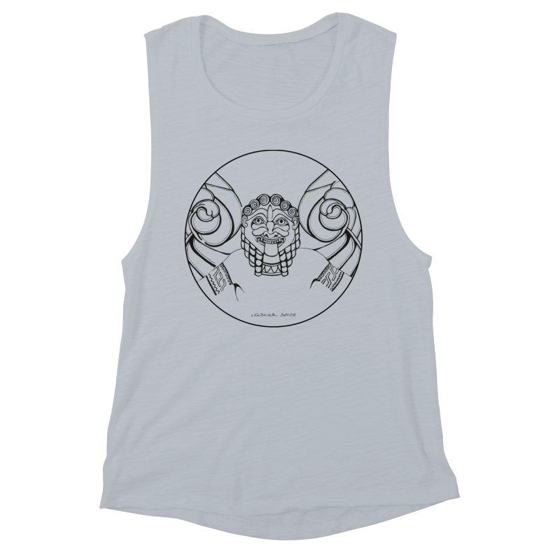 Medusa Women's Tank by it's Common Sense