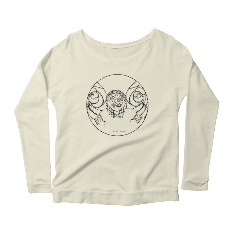 Medusa Women's Scoop Neck Longsleeve T-Shirt by it's Common Sense