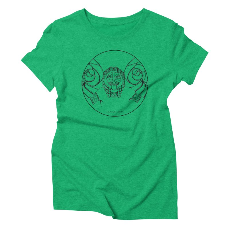 Medusa Women's Triblend T-Shirt by it's Common Sense